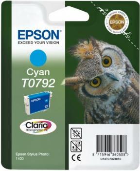 Inkoust Epson T0792 cyan | Stylus Photo 1400