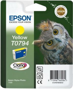 Inkoust Epson T0794 yellow | Stylus Photo 1400