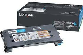 Toner Lexmark cyan [ 3000str | C500N | MOQ 11 ks ]