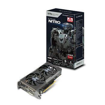Sapphire Radeon R7 370 NITRO OC, 2GB GDDR5 (256 Bit), HDMI, 2xDVI, DP, LITE