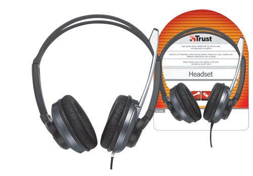 Sluchátka s mikrofonem TRUST Headset HS-2800