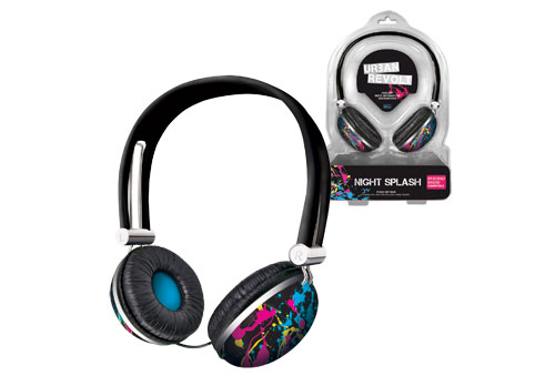 Urban Revolt Headset - Night SplashFire