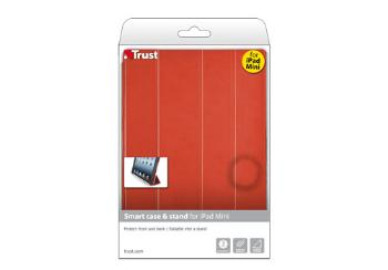 Smart case & stand for iPad Mini red