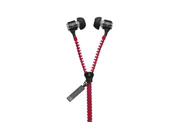 Urban Revolt Zipper In-ear Headset - red