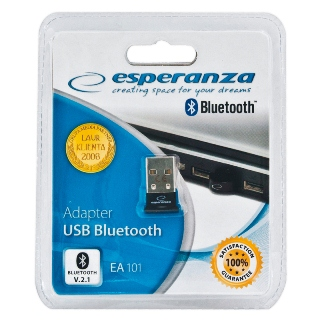 Esperanza EA101 Bluetooth 2.1 + EDR dongle USB | Class 2