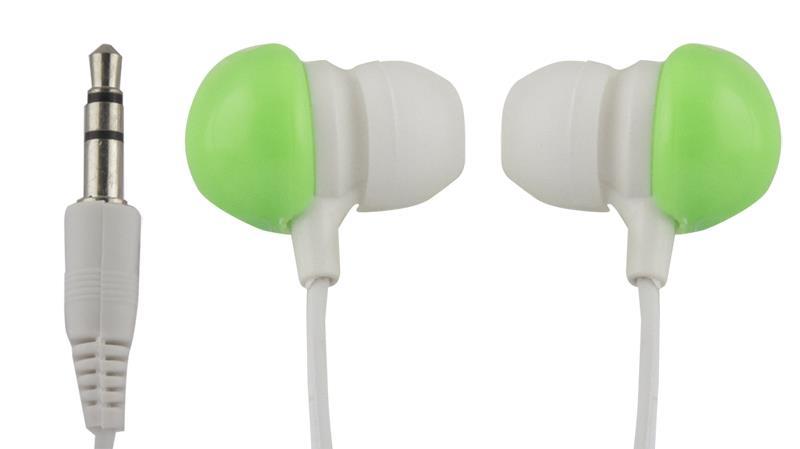 Esperanza EH151G BUBBLE GUM Stereo sluchátka do uší, zelená