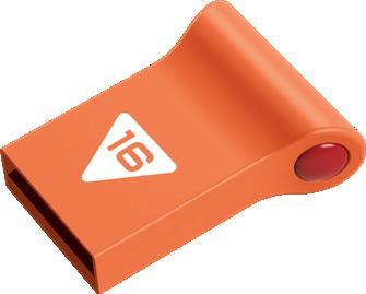 EMTEC Minidrive Series D102 16GB USB 2.0 flashdisk (18MB/s, 8MB/s),různé barvy