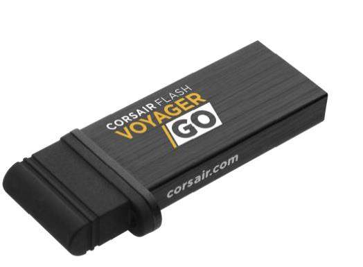 Corsair Flash Voyager GO OTG 64GB, USB 3.0 + micro USB, černý