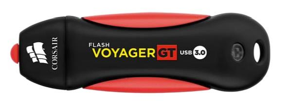 Corsair Flash Voyager GT USB3.0 64GB, gumový povrch, vodě odolný, 240/100MB/s