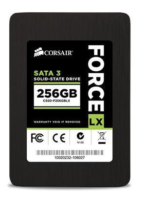 Corsair SSD Force LX Series 256GB SATA III 2.5'' (560MB/s; 300MB/s), 7mm