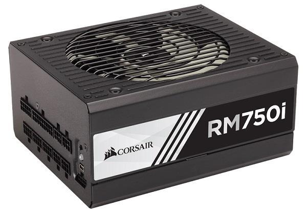 Corsair zdroj RM series RM750i 750W, 80 PLUS Gold, modulární, 135mm větrák