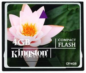 Kingston CompactFlash karta 4GB