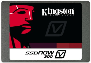 Kingston SSD disk 120GB SSDNow V300 SATA3, 2.5'', MLC, 7mm, 450/450MB/s kit