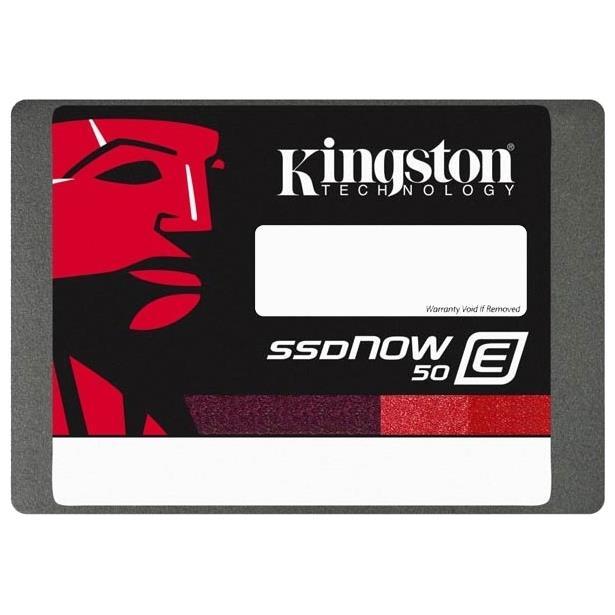 Kingston SSD disk SSDNow E50 100GB, SATA3, 2.5'', 7mm, AES, 550/530MB/s