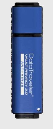 Kingston DataTraveler Vault Privacy 3.0 32GB USB 256bit AES plné šifr. + ESET AV