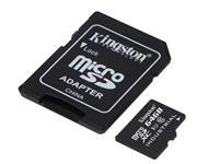 Kingston micro SDXC 64GB UHS-I Class 10 Industrial Temp Card + SD Adaptér
